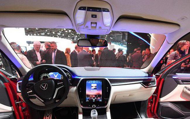 Xe của VinFast được đánh giá đã tiệm cận phân khúc F (nhóm xe sang tiêu chuẩn châu Âu).